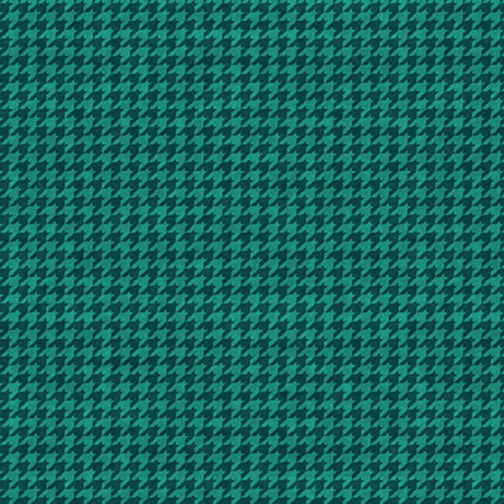 Houndstooth Basics New Teal