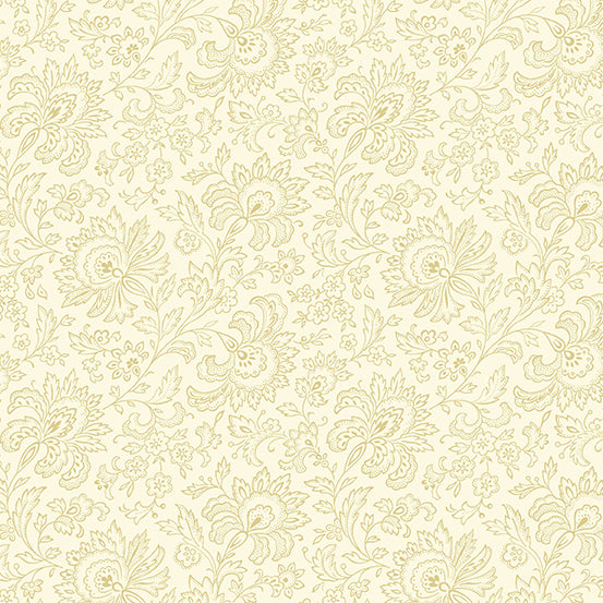 French Chateau Paisley Sand Dollar