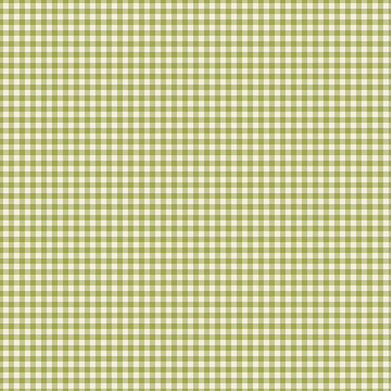 French Chateau Gingham Grass