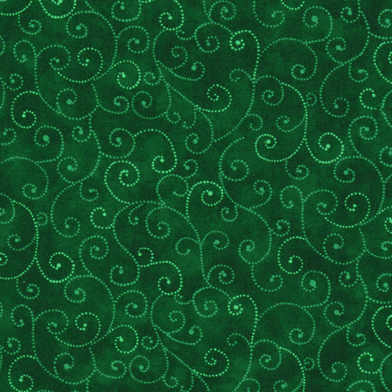 Marble Swirls Real Green