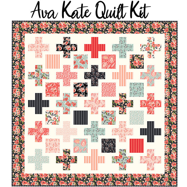 Ava Kate Quilt Kit from Riley Blake