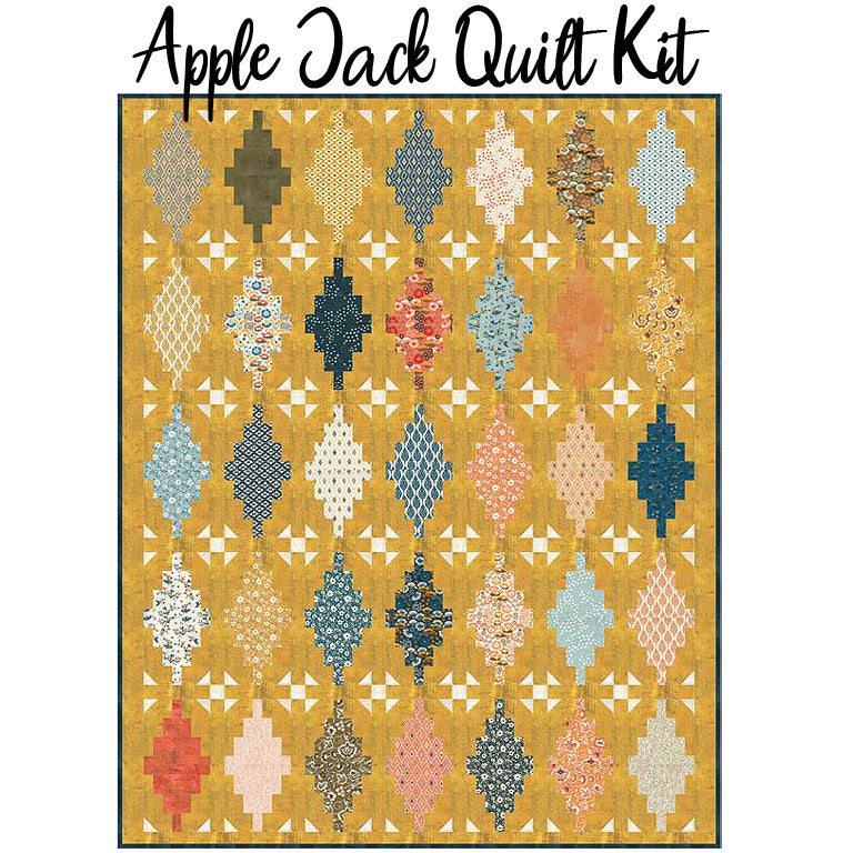 Apple Jack Quilt Kit with Cider Fabric from Moda