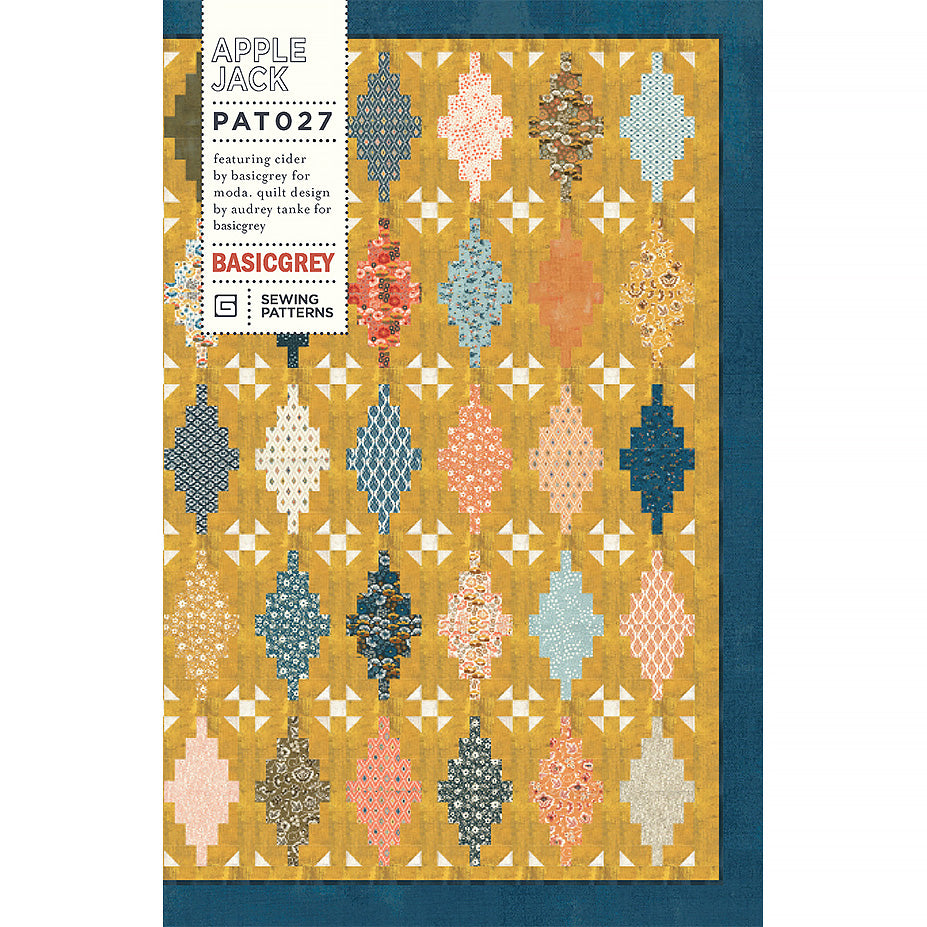 Apple Jack Quilt Pattern by BasicGrey
