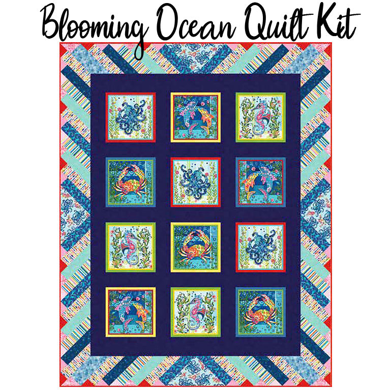 Blooming Ocean Quilt Kit from Studio E