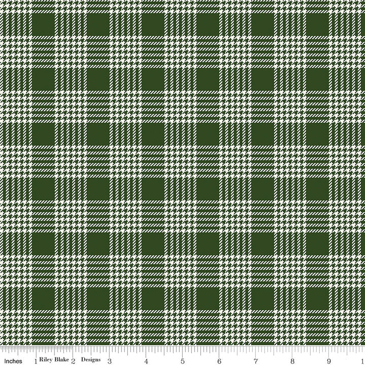 Yuletide Plaid Green