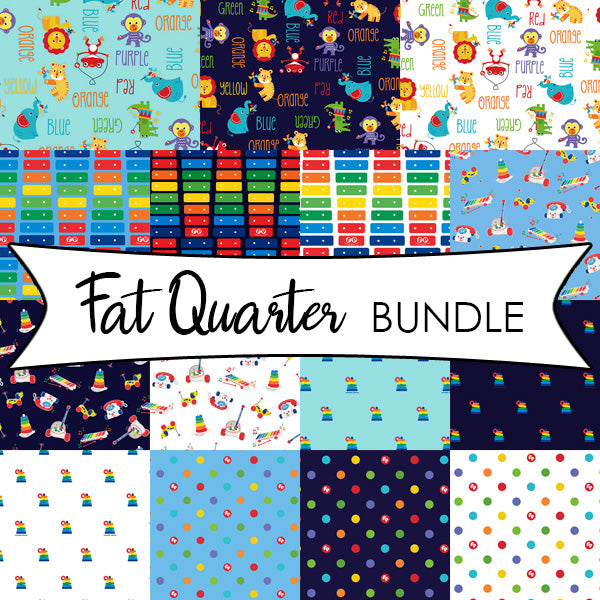 Fisher-Price Fat Quarter Bundle