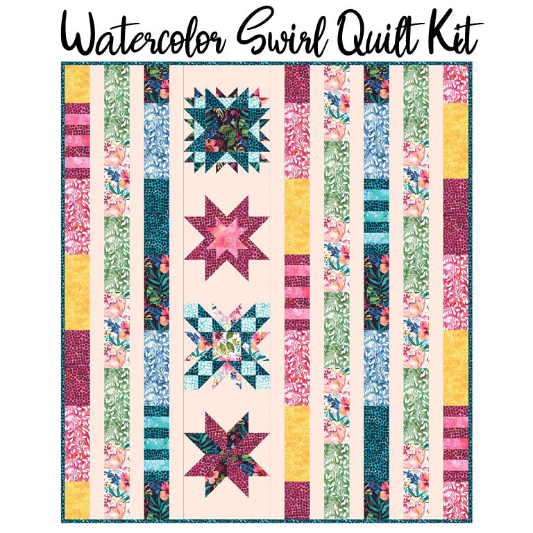 Watercolor Swirl Kit with Brightly Blooming