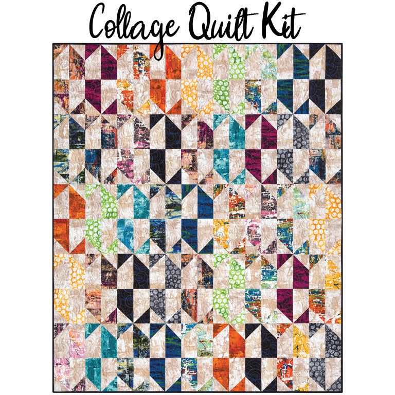 Collage Quilt Kit from Robert Kaufman