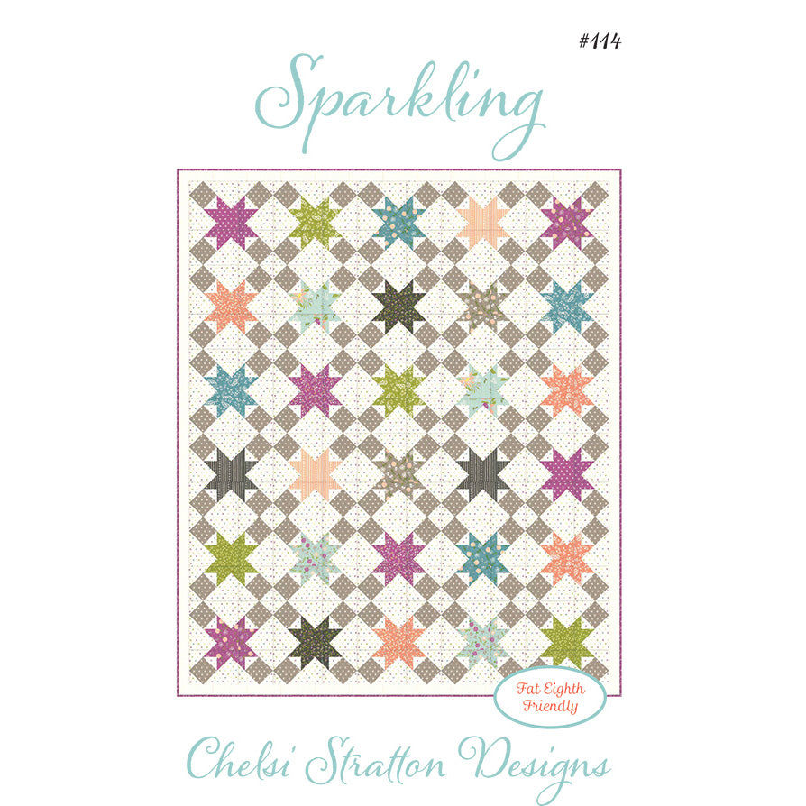 Sparkling Quilt Pattern from Chelsi Stratton Designs