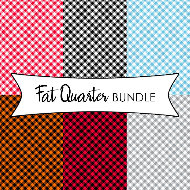 Chelsea's Checks Fat Quarter Bundle from Henry Glass