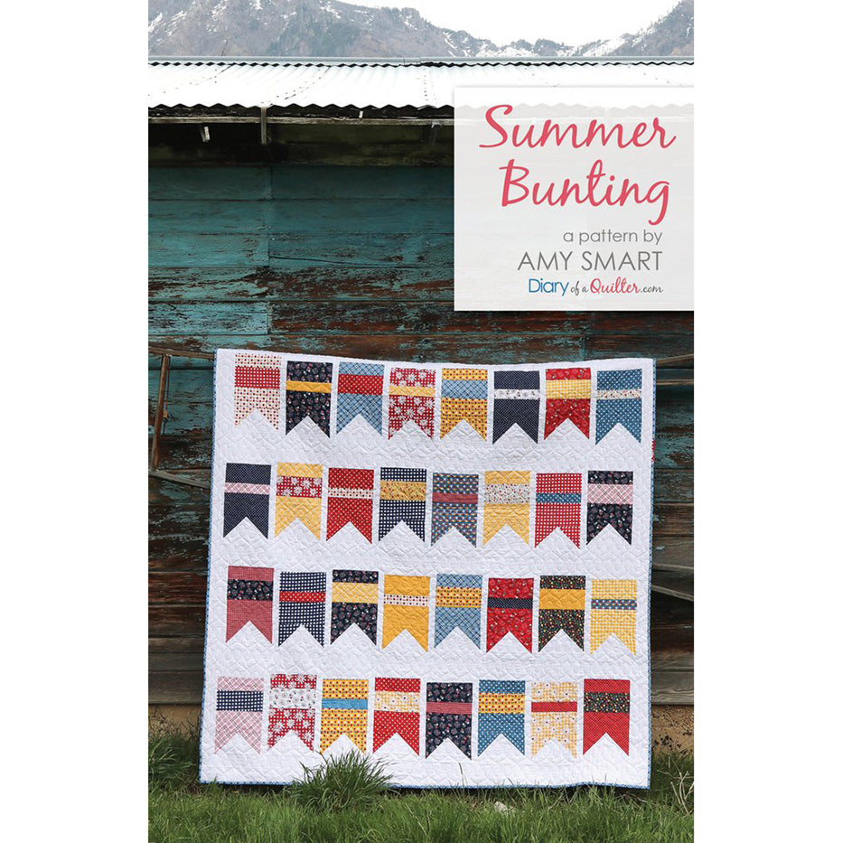 Summer Bunting Quilt Pattern from Diary of a Quilter