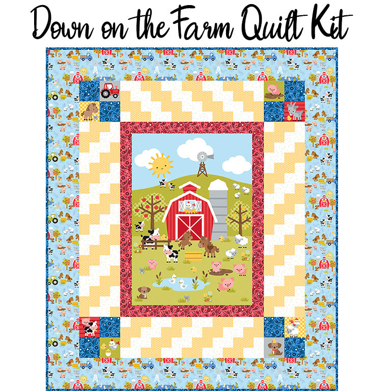 Down on the Farm Quilt Kit from Riley Blake