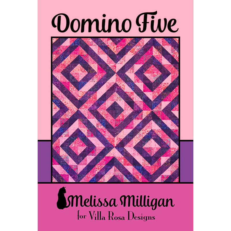 Domino Five Quilt Pattern