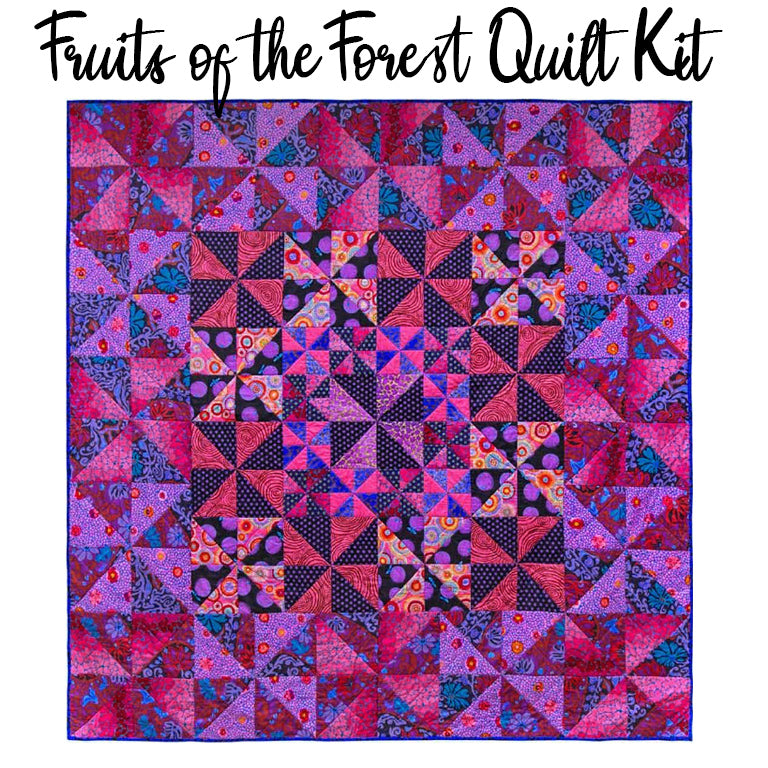 Fruits of the Forest Quilt Kit with Kaffe Fassett Collective