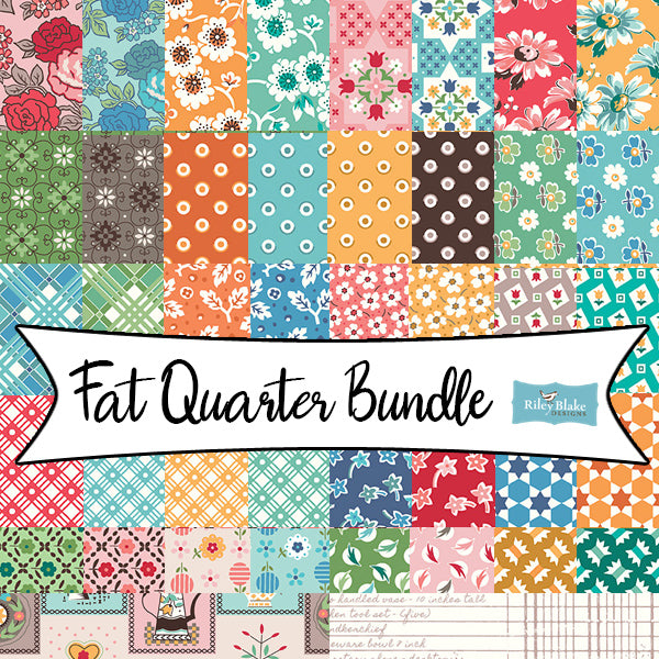 Flea Market Full Collection Fat Quarter Bundle from Riley Blake