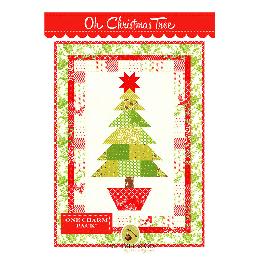 Oh Christmas Tree Quilt Pattern by Fig Tree Quilts