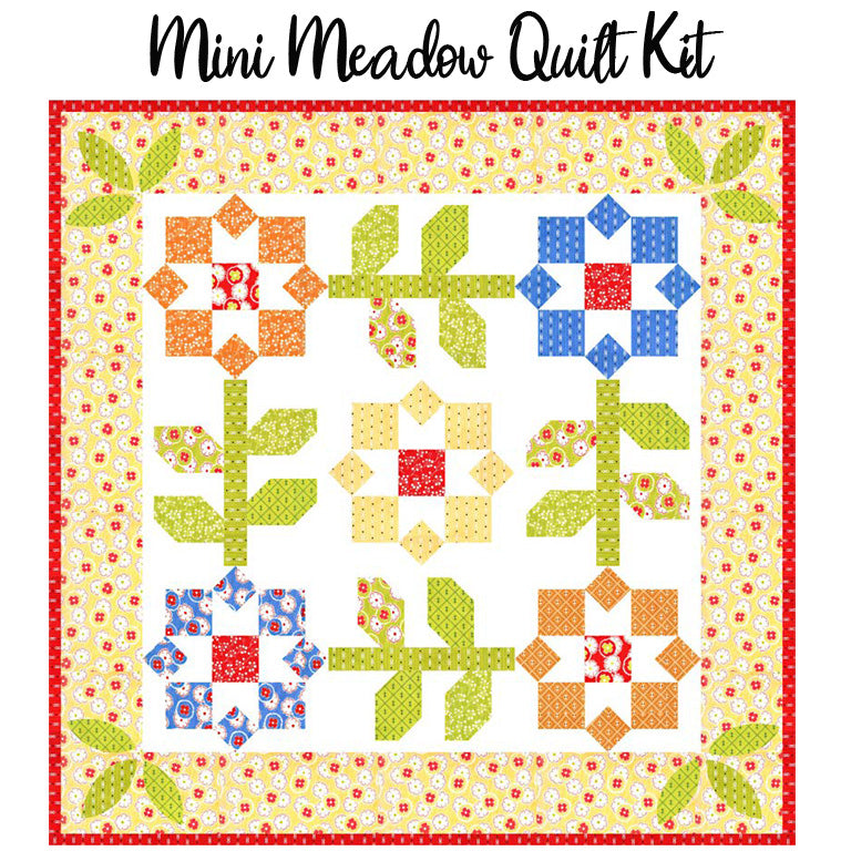 Mini Meadow Quilt Kit with Figs & Shirtings