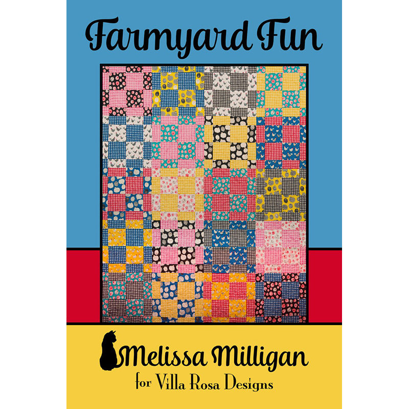 Farmyard Fun Quilt Pattern