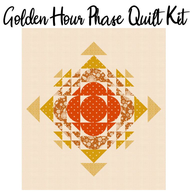 Phase Quilt Kit with Golden Hour from Ruby Star Society