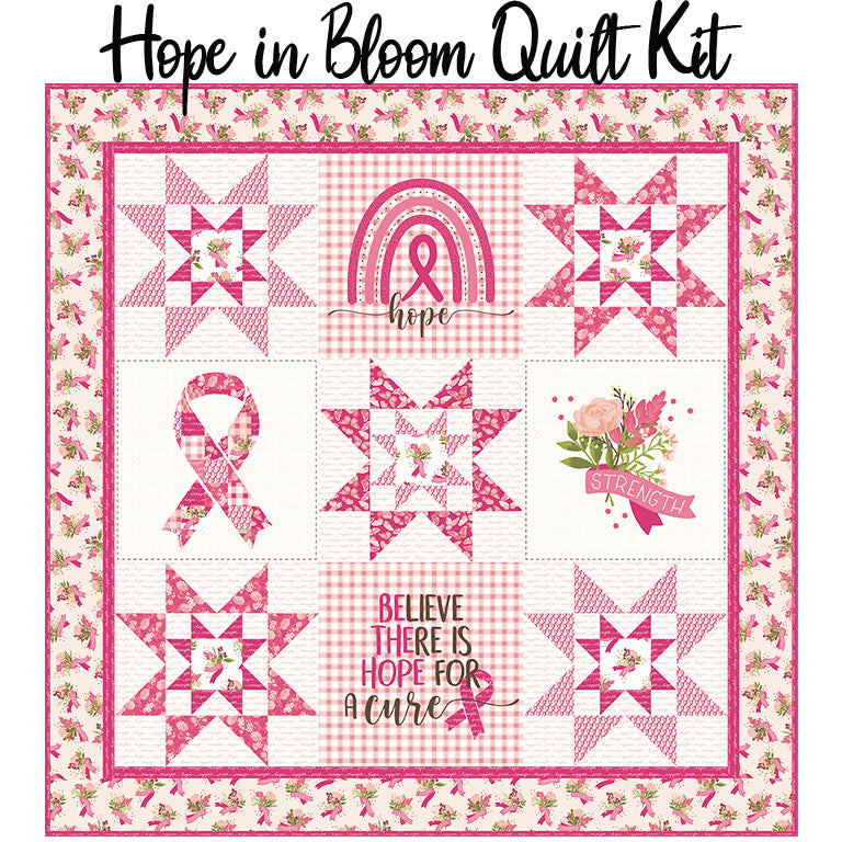 Hope in Bloom Quilt Kit from Riley Blake