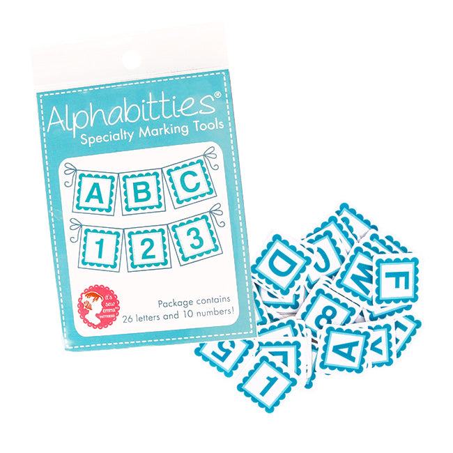 Alphabitties Blue