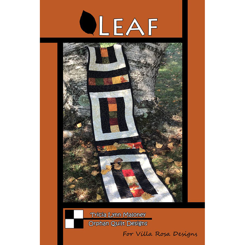 Leaf Table Runner Pattern