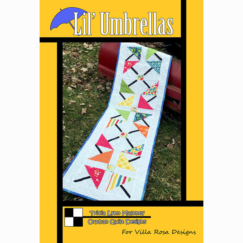 Lil Umbrellas Table Runner Pattern