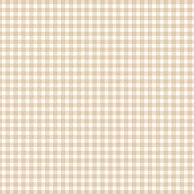 Beautiful Basics Classic Gingham Check in Almond