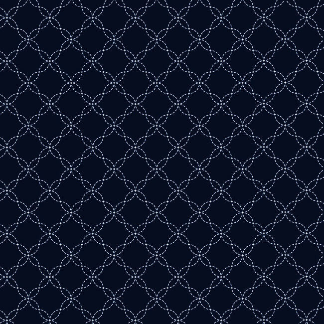 KimberBell Lattice Navy