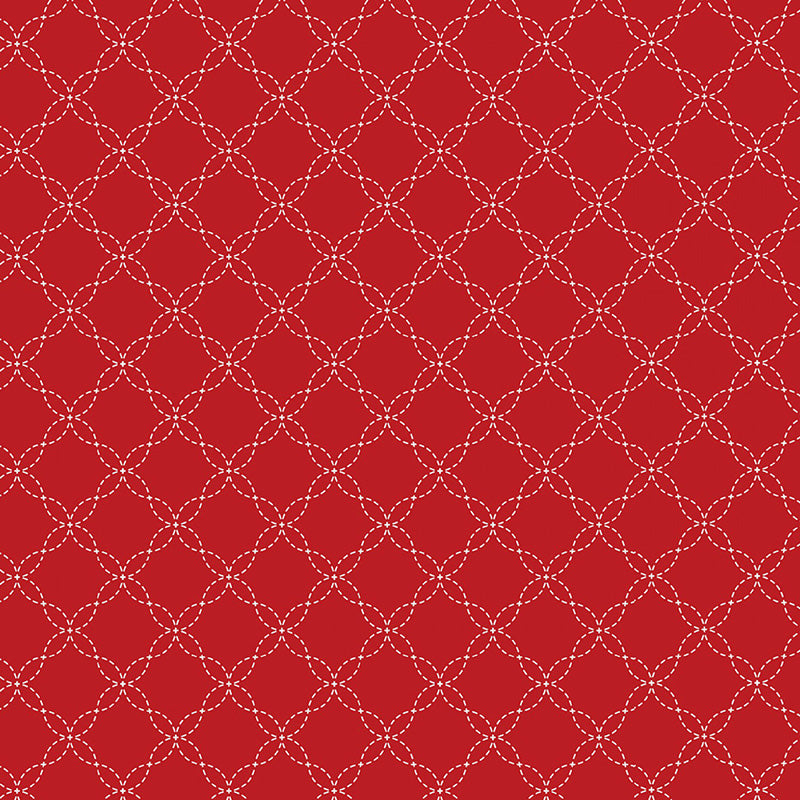 KimberBell Lattice Red