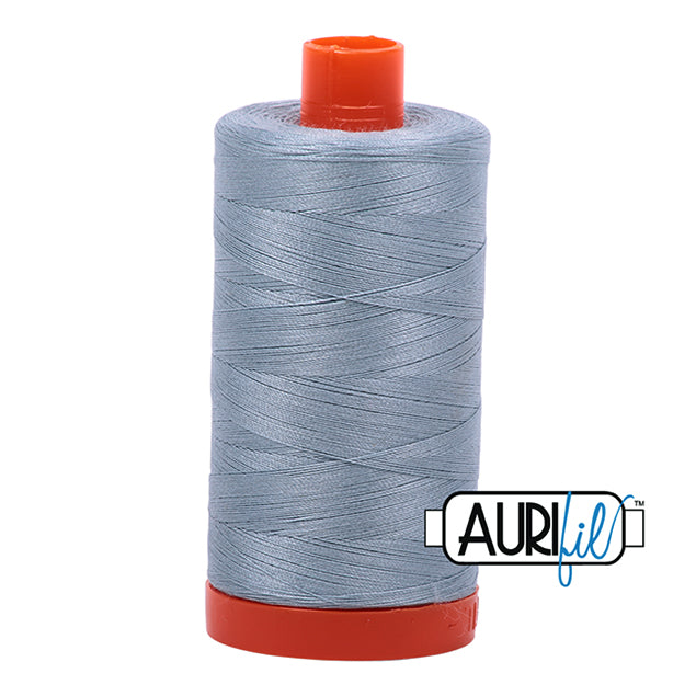 Aurifil Cotton Mako Thread Artic Sky 50wt MK50-2612