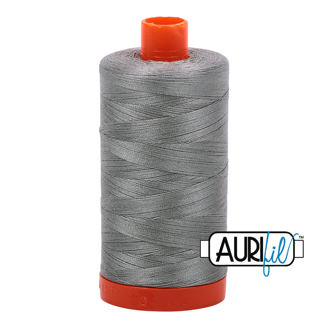 Aurifil Cotton Mako Thread Stainless Steel 50wt MK50-2620