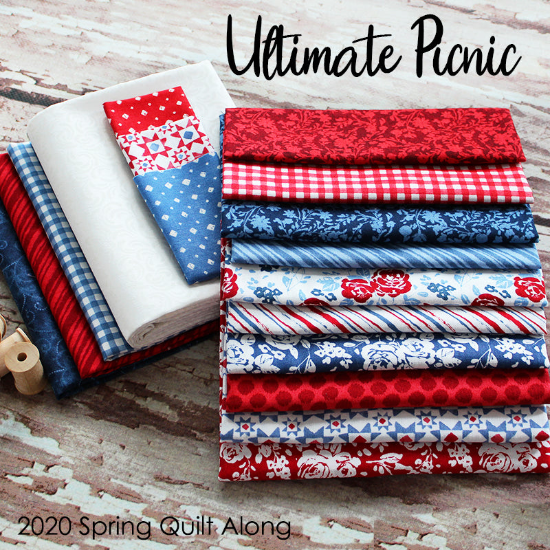 2020 Ultimate Picnic Spring Mystery Quilt Kit from Fort Worth Fabric Studio