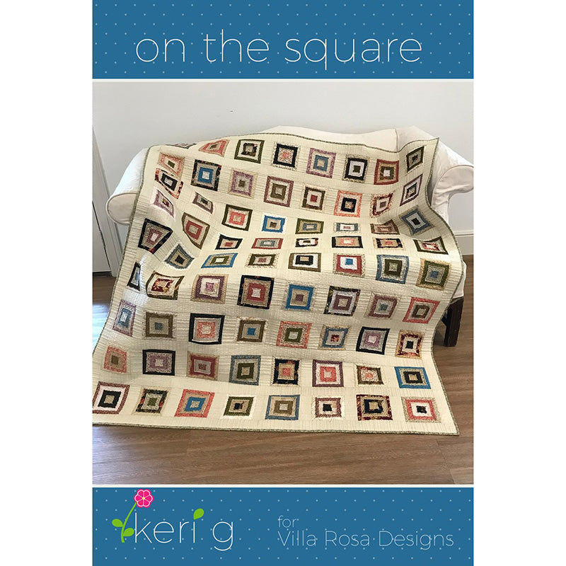 On the Square Quilt Pattern