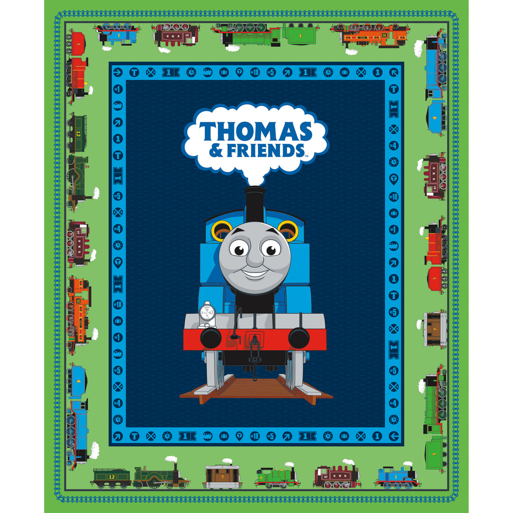 "Thomas & Friends 36"" Panel Green"