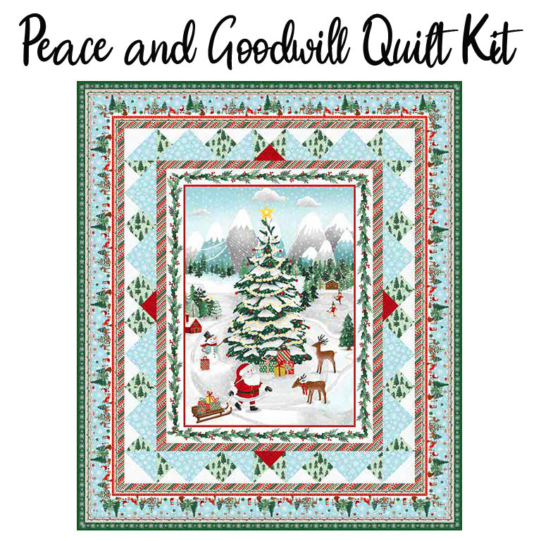 Peace and Goodwill Quilt Kit from Studio E