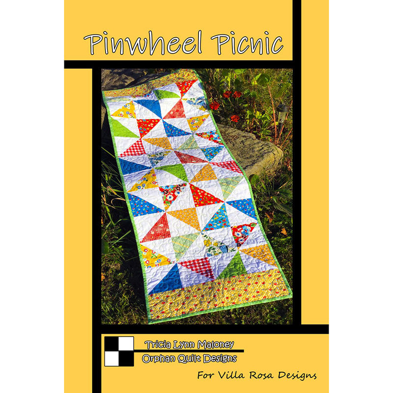 Pinwheel Picnic Table Runner Pattern