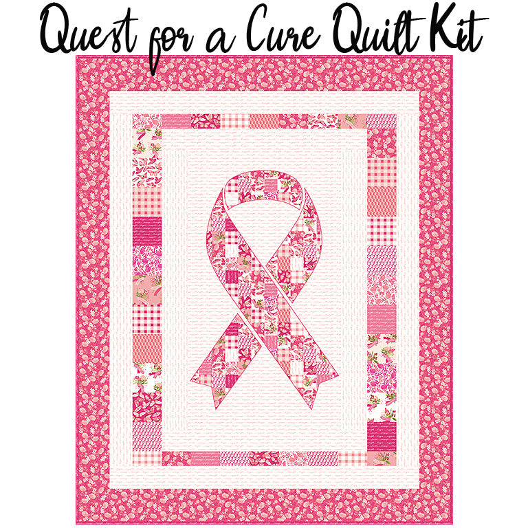 Quest for a Cure Quilt Kit from Riley Blake