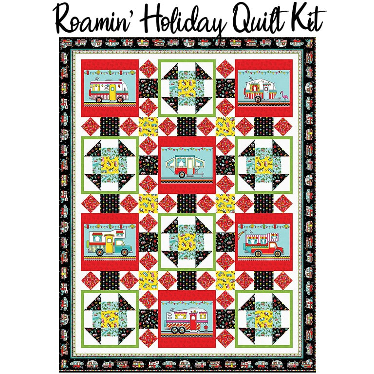 Roamin' Holiday Quilt Kit from Studio E