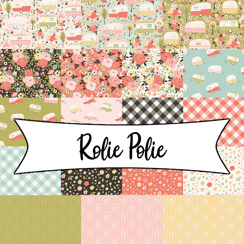 "Joy In The Journey Rolie Polie 2.5"" Strips from Riley Blake"