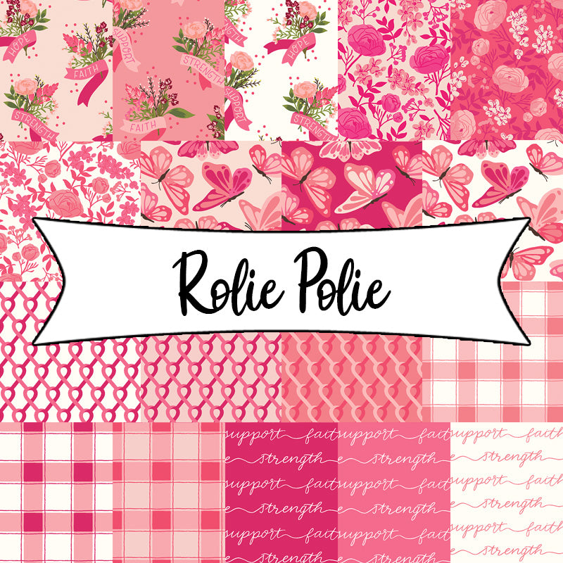 Hope in Bloom Rolie Polie from Riley Blake