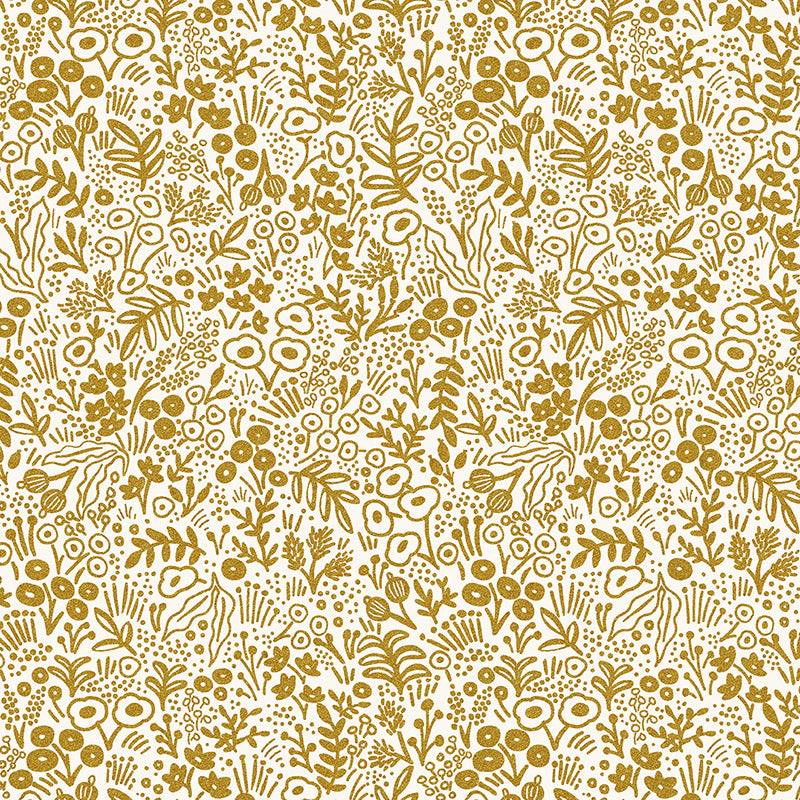 Rifle Paper Co. Basics Tapestry Lace Gold Metallic