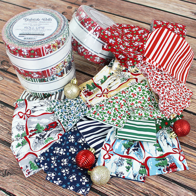 Yuletide Bells Roll-Up from Robert Kaufman