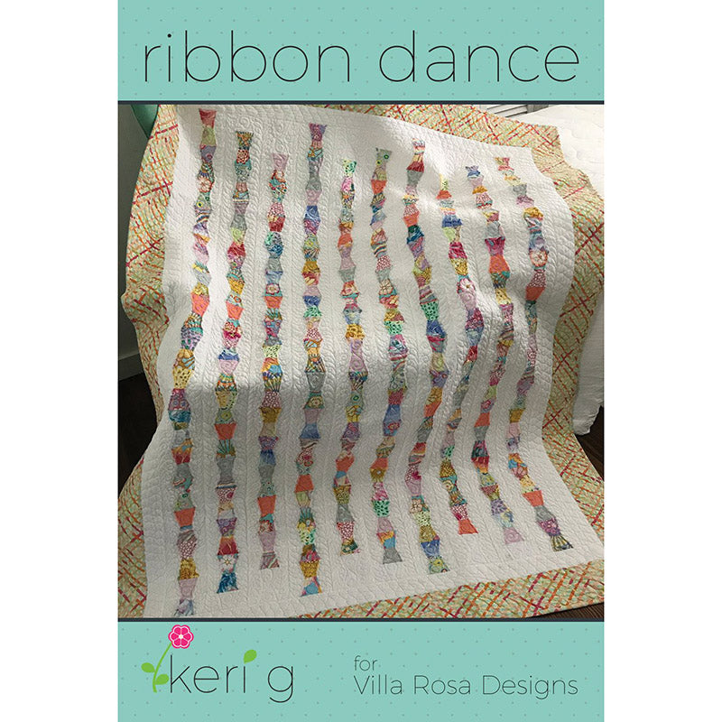 Ribbon Dance Quilt Pattern