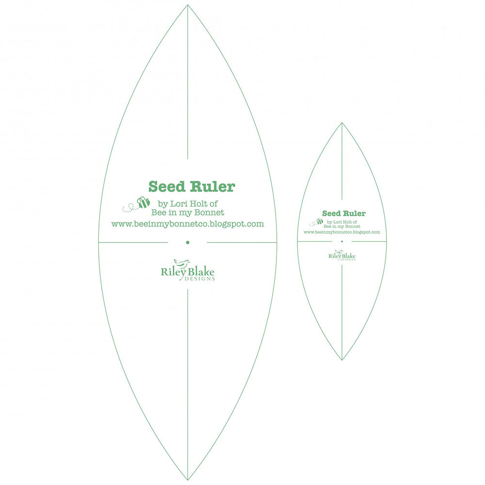 Seed Rulers Templates from Lori Holt