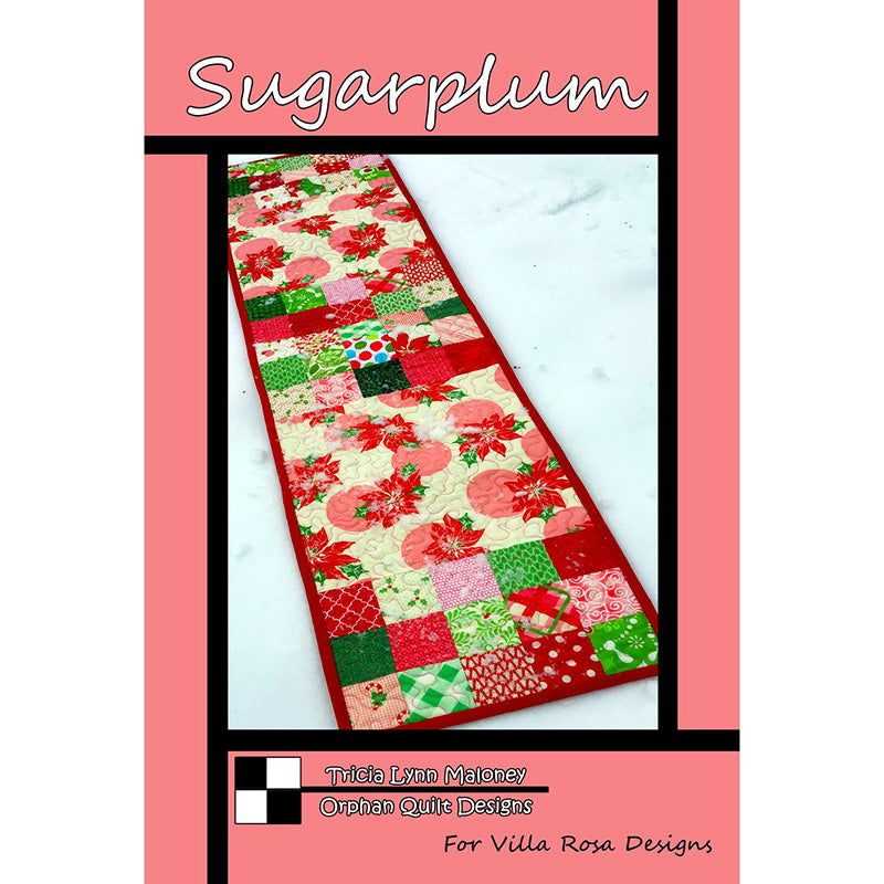 Sugarplum Table Runner Pattern