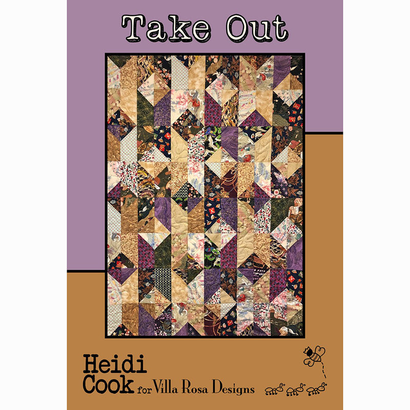 Take Out Quilt Pattern