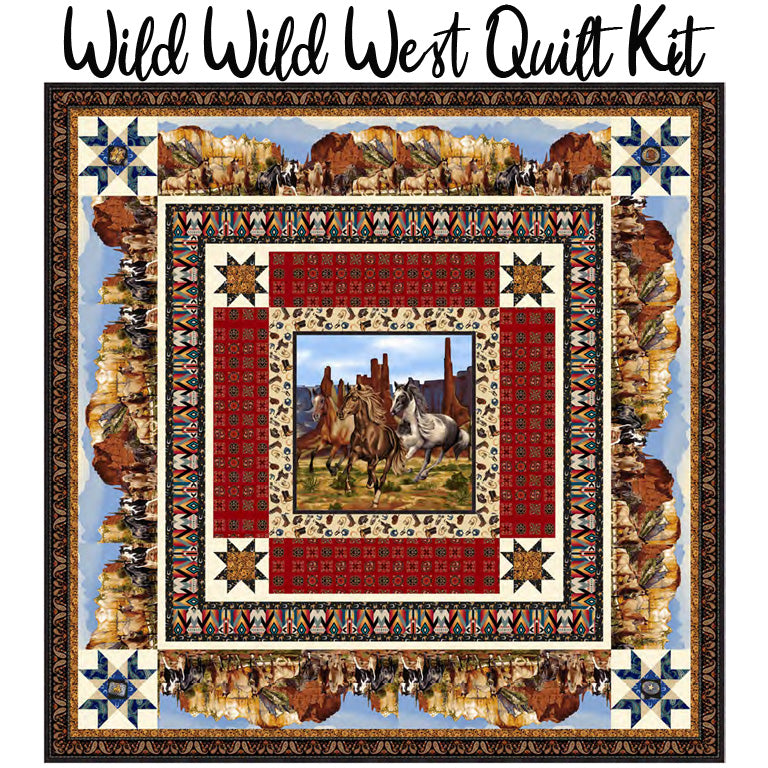 Wild Wild West Quilt Kit from Studio E
