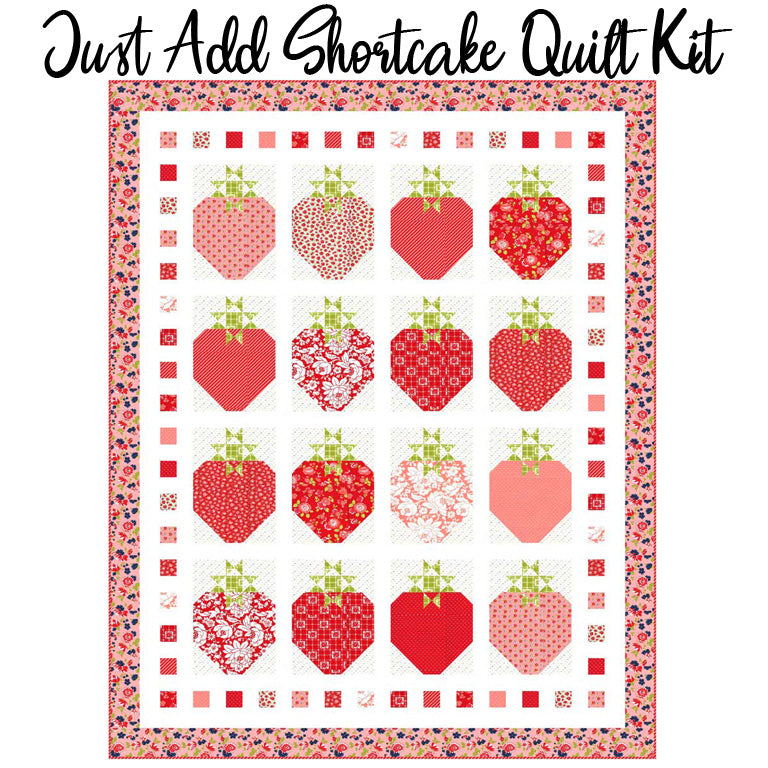 Just Need Shortcake Quilt Kit with Shine On Fabric from Moda