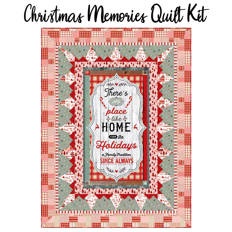 Christmas Memories Quilt Kit from Studio E